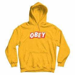 Obey Box Logo Slice Hoodie