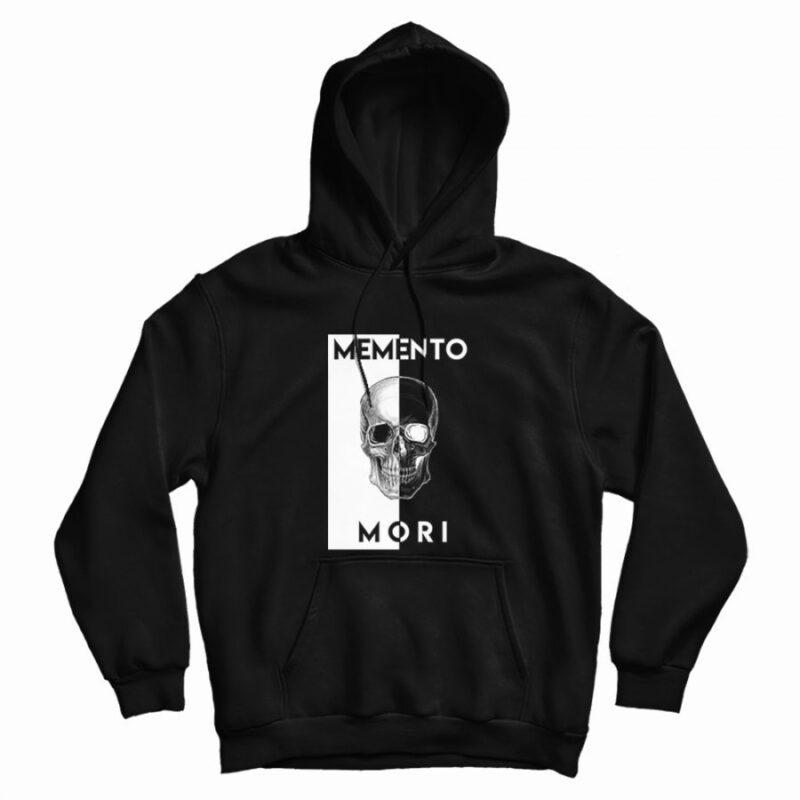 Unus Annus Casual Pullover Hoodie Memento Mori Sweatshirt Unisex Adults
