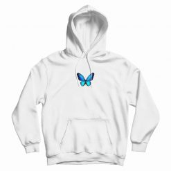 Butterfly Blue Classic Hoodie