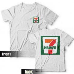 Seventh Heaven 7 Eleven Logo Parody T-Shirt