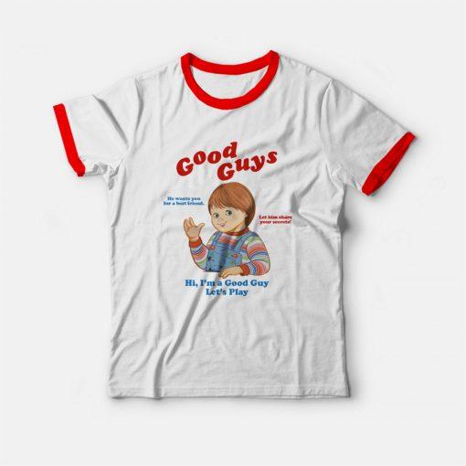 Child's Play Chucky Good Guys Ringer T-shirt