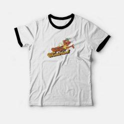 Willys Wonderland Movie Nicolas Cage Ringer T-shirt