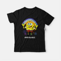 SpongeBob Emotionally Unavailable T-shirt