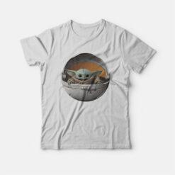 Baby Yoda In Pod T-shirt