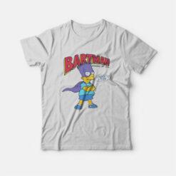 Bart Simpson Bartman T-shirt