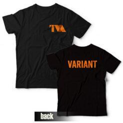 Loki Variant T-Shirt Front and Back