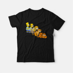 Bart Simpsons Garfield T-shirt