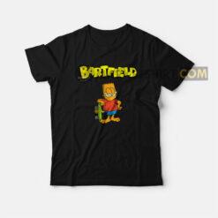Bartfield Garfield Bart Simpsons T-shirt