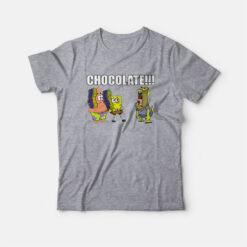 Spongebob Squarepants Chocolate T-shirt