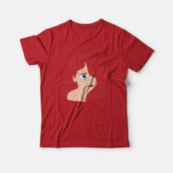 Ariel The Little Mermaid Sigh Face T-shirt