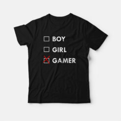 Boy Girl Gamer T-shirt