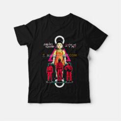 Squid Game T-Shirt Korean Movie